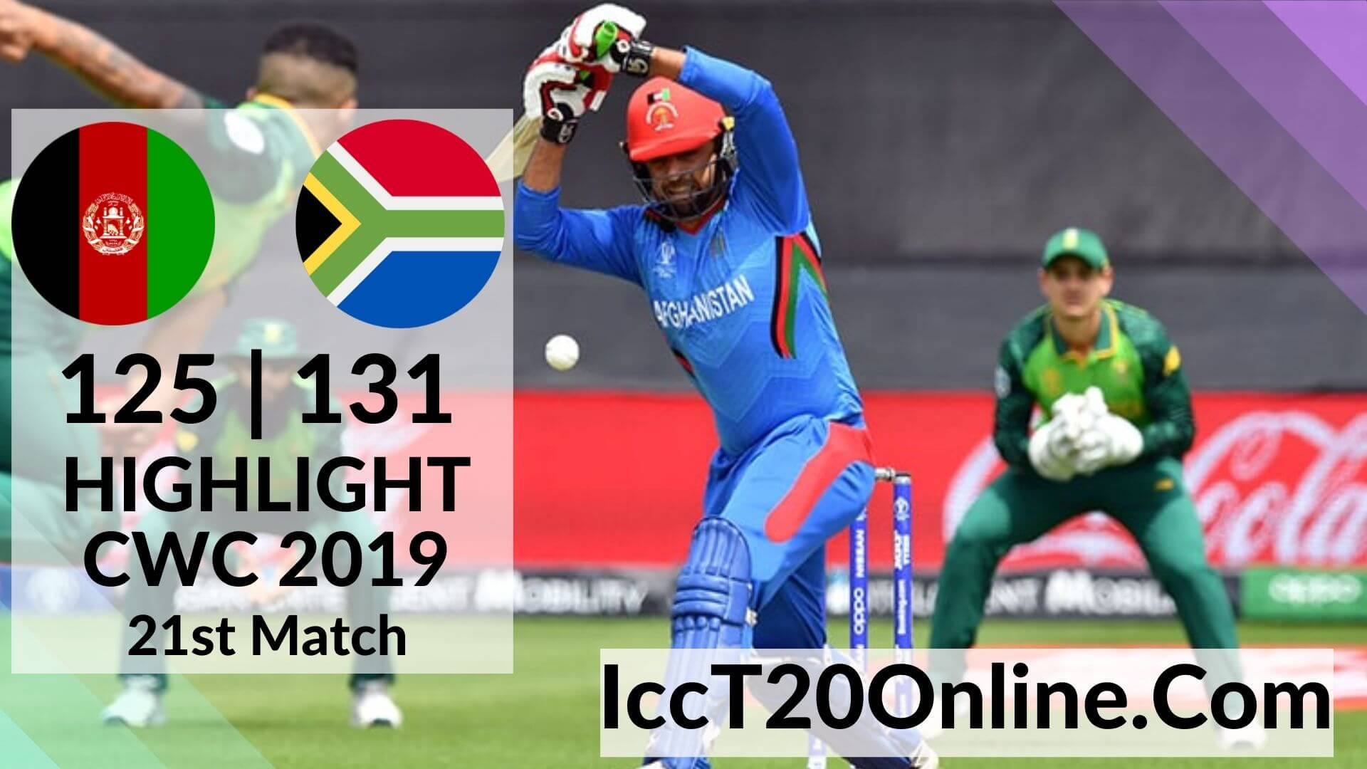 Afghanistan Vs South Africa Highlights 2019 CWC 21st Match