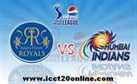 Live Rajasthan Royals vs Mumbai Indians Online